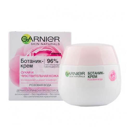Kem dưỡng ẩm Garnier cho da khô và da nhạy cảm Nga