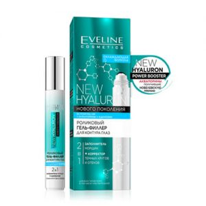 Thanh lăn nâng cơ mắt Bio Hyaluron 4D Eveline xóa nhăn trẻ hóa và tan bọng vùng da mắt