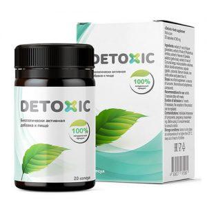 Detoxic diệt ký sinh trùng, cải thiện tiêu hóa của Nga - 20 viên