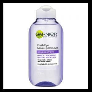 Nước tẩy trang mắt môi Garnier Fresh Eye Make Up của Nga - 125ml