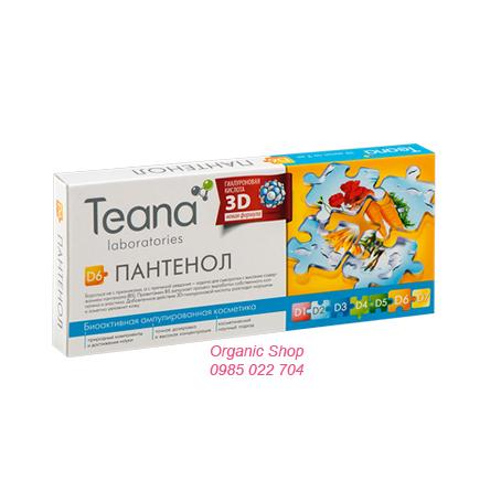 Serum Teana D6 của Nga - Serum collagen chống lão hóa, chảy sệ, săn chắc da