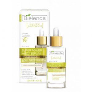 Serum Bielenda Super Power Mero Serum 10% chống lão hóa, trắng da chuyên sâu - 30ml