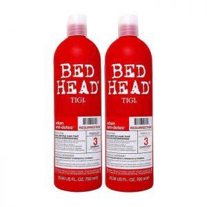 Bộ dầu gội xả đỏ TIGI Bed Head phục hồi tóc 750ml
