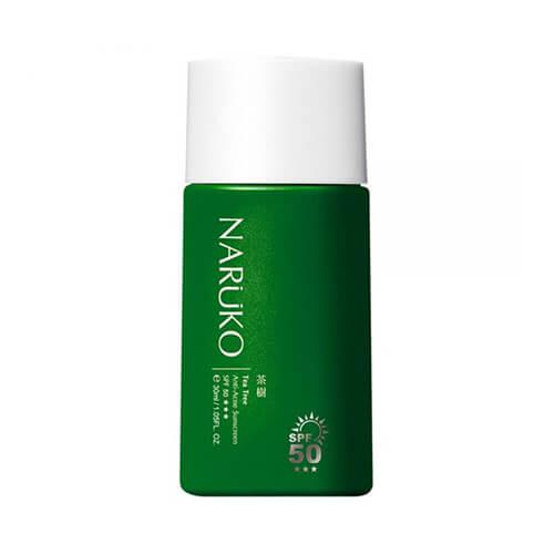 Kem chống nắng da dầu mụn Naruko Tea Tree Anti Acne Sunscreen SPF50 PA+++