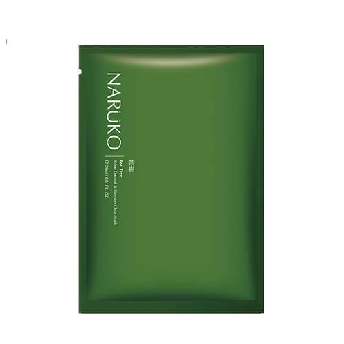 Mặt nạ giấy Naruko tràm trà trị mụn, kiểm soát dầu thừa - 1 hộp 8 miếng
