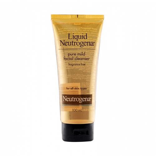 Sữa rửa mặt Neutrogena dịu nhẹ dành cho mọi loại da Liquid Pure Mind Facial Cleaner