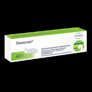 Kem mỡ Levosin kháng khuẩn - 40g