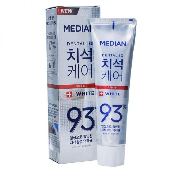 Kem đánh răng Median Dental IQ 93% trắng - 120g