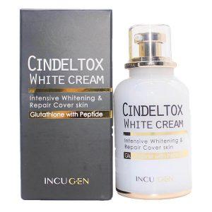 Kem dưỡng trắng da Cindel Tox White Cream - 50ml