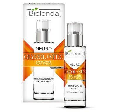 Serum trẻ hóa trắng mịn Bielenda Neuro Glygol+Vit.c - 30ml