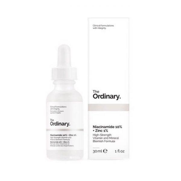 Tinh chất trị thâm mụn The Ordinary Niacinamide 10% + Zinc 1% - 30ml