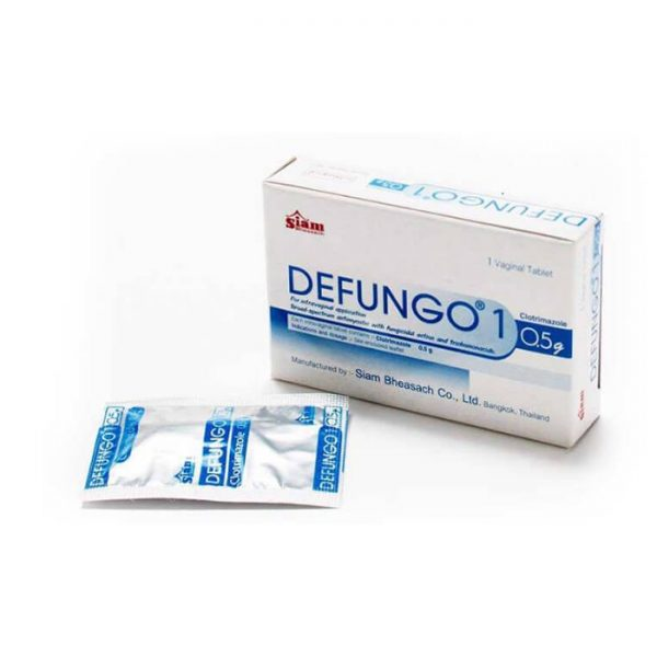 Viên đặt phụ khoa SIAM DEFUNGO 1 - hộp 1 viên