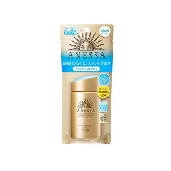 Kem chống nắng Anessa dưỡng da bảo vệ hoàn hảo Perfect UV Milk 60ml