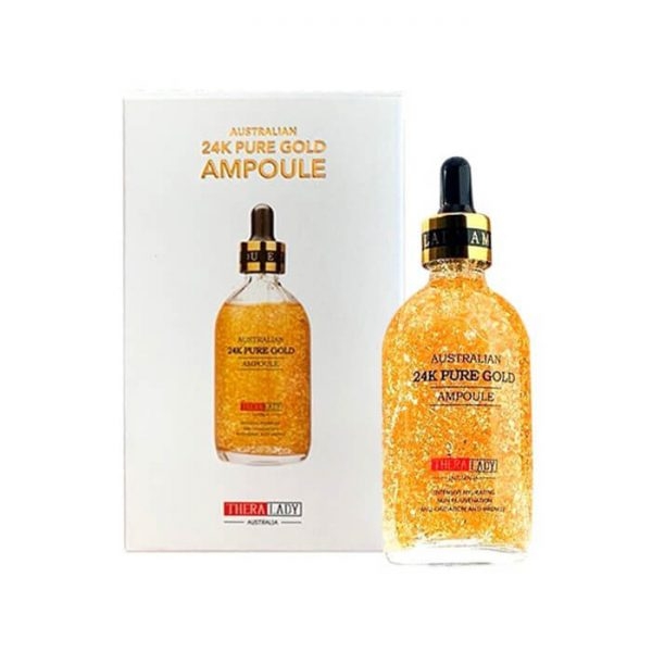 Serum Australia 24k Pure Gold Ampoule - 100ml