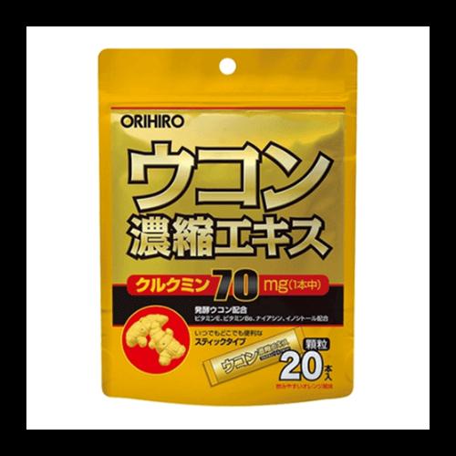 Tinh bột nghệ giải rượu Orihiro - 20 gói