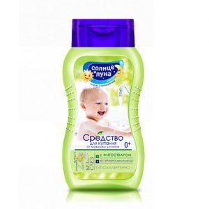 Sữa tắm cho bé sơ sinh chiết xuất hoa cúc của Nga - 200ml