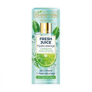 Nước tẩy trang Bielenda Fresh Juice trắng da thải độc - 110ml
