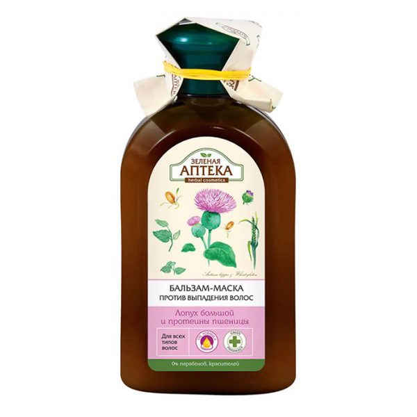 Dầu xả chống rụng tóc cây Ngưu Bàng và Protein Lúa Mì, giảm gãy rụng kích thích mọc tóc - 300ml