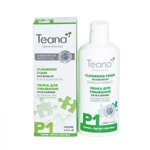 Sữa rửa mặt Teana P1 tạo bọt cho da nhạy cảm và kích ứng - 150ml