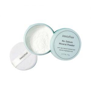 Phấn phủ bột kiềm dầu Innisfree No Sebum Mineral Powder - 5g