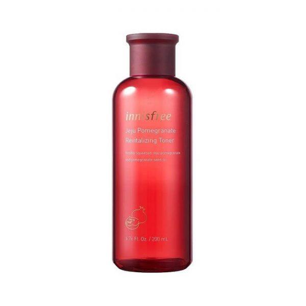 Nước hoa hồng lựu đỏ Innisfree Jeju Pomegranate Revitalizing - 200ml