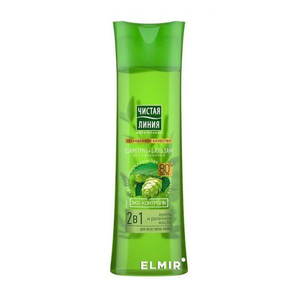 Dầu gội 2in1 PURE LINE chống rụng tóc và phục hồi hư tổn - 400ml