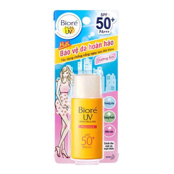 Sữa chống nắng Bioré dưỡng ẩm UV Perfect Protect Milk Moisture