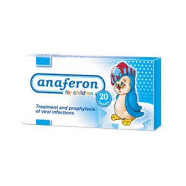 Viên uống Anaferon tăng đề kháng - hộp 20 viên