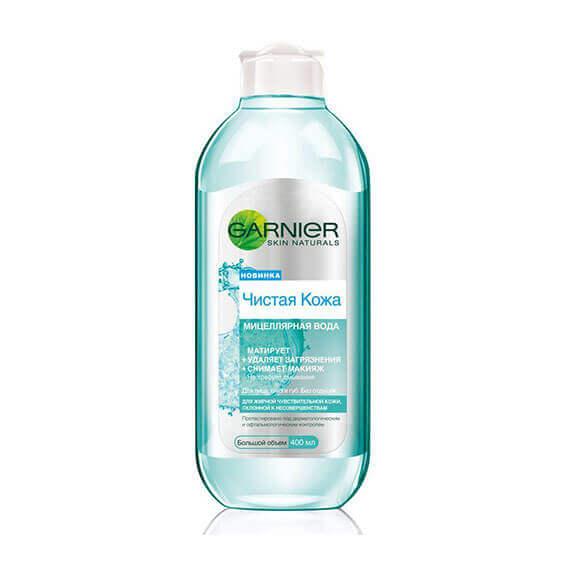 Nước tẩy trang Garnier xanh làm sạch da cho da nhờn, nhạy cảm và dễ bị tổn thương - 400ml