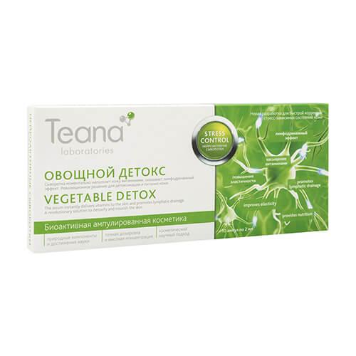 Serum Teana Vegetable Detox chống ô nhiễm thải độc sâu giảm Stress cho da - 20ml