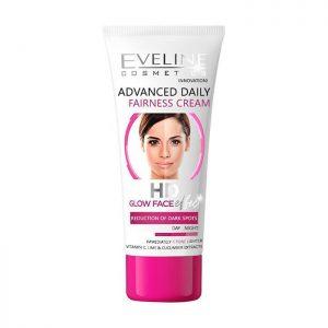 Kem dưỡng trắng da Eveline HD Glow Face - 40ml