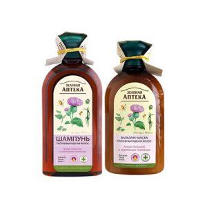Cặp dầu gội xả Anteka chống rụng tóc chiết xuất ngưu bàng và Protein lúa mì Biotopcare