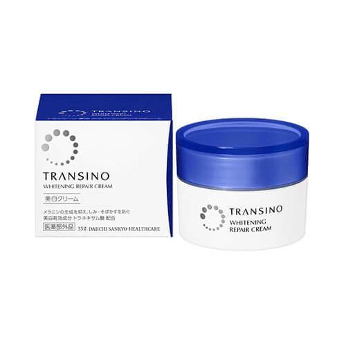 Kem dưỡng ban đêm dặc trị nám Transico Whitening Repair Cream Ex - 35g