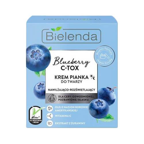 Kem Bielenda Blueberry C-Tox dưỡng ẩm và làm sáng da của Nga - 40g