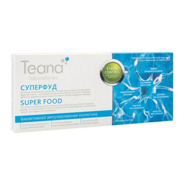 Serum dưỡng da mặt Teana siêu thực phẩm (10 x 2 ml)