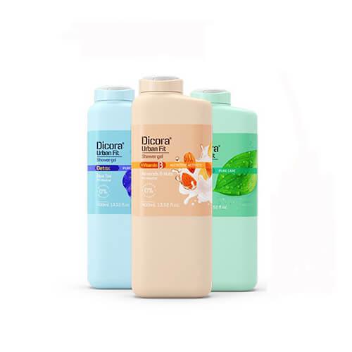 Sữa tắm dưỡng da Dicora Urban Fit 400ml