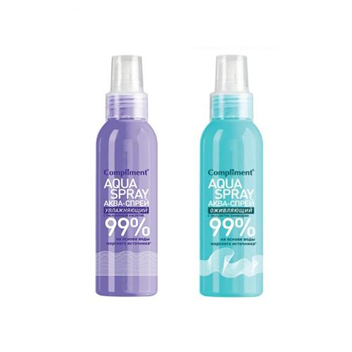 Xịt khoáng Aqua phục hồi 99% Compliment - 200ml