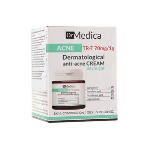 Kem dưỡng Bielenda Dr Medica Anti-acne Dermatological giảm mụn, mờ thâm - 50ml