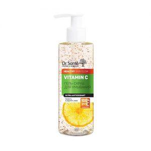 Gel rửa mặt Vitamin C Dr Sante tẩy tế bào da chết - 200ml