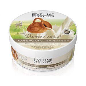 Kem dưỡng da mặt và toàn thân Eveline EU chiết suất từ sữa dê - 210ml