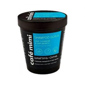 Tẩy da chết da đầu Cafe Mimi Shampoo Scrub Deep Cleansing & Hair Growth - 330g