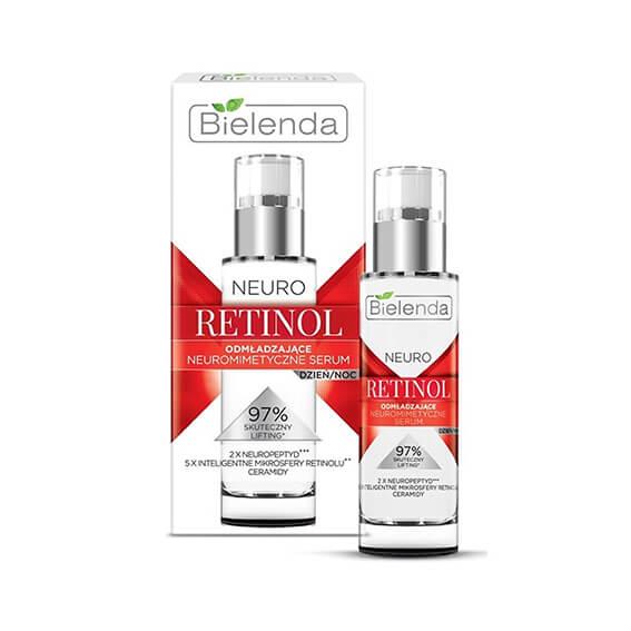 Serum Retinol Bielenda chống lão hóa, tái tạo da, căng bóng - 30ml