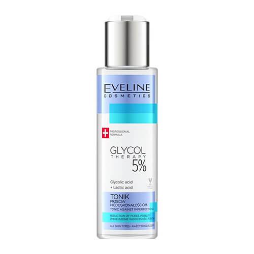 Toner Eveline 5% Glycol Therapy làm sạch sâu - 110ml