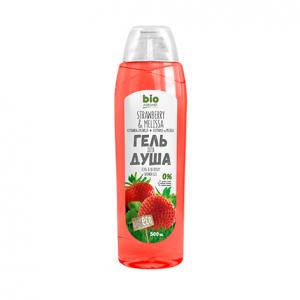 Sữa tắm Bio Naturell dâu tây và tía tô đất - 500ml