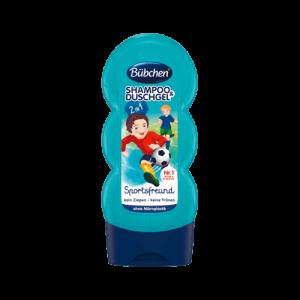 Sữa tắm gội Bubchen Sportsfreund 2in1 cho bé của Đức - 230ml